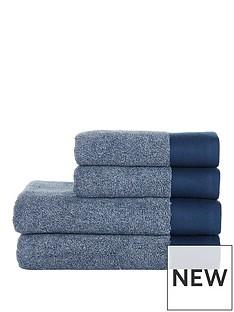 ideal-home-blue-marl-4-piece-towel-bale-550gms