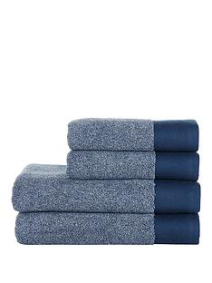 ideal-home-blue-marl-550gsm-4-piece-towel-bale