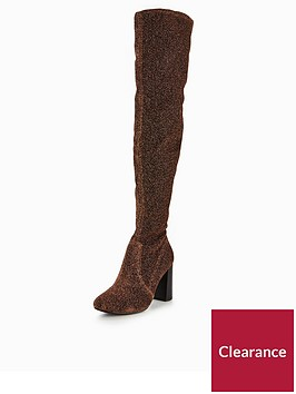 v-by-very-asia-block-heel-over-the-knee-boots-bronze-lurex