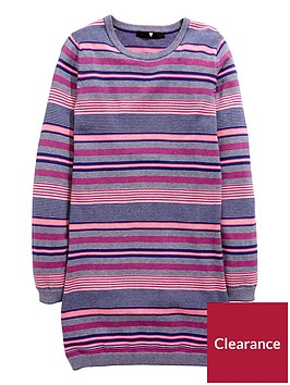 v-by-very-stripe-knitted-dress