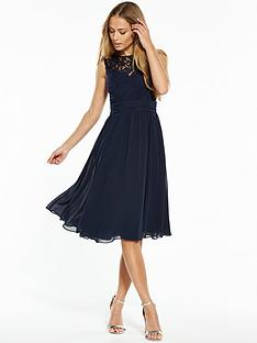 v-by-very-bridesmaid-lace-yoke-midi-dress-navy