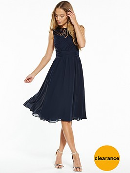 v-by-very-bridesmaid-lace-yoke-midi-dress-navy