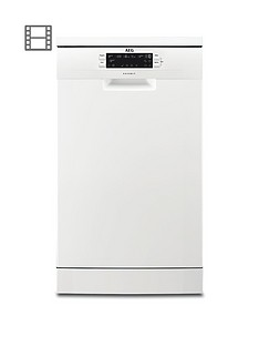 AEG FFB62400PW Slimline 9-Place Dishwasher - White Best Price, Cheapest Prices