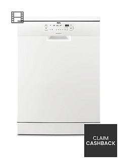 AEG FFB41600ZW Fullsize 13-Place Dishwasher - White
