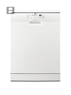 AEG FFB41600ZW Fullsize 13-Place Dishwasher - White Best Price, Cheapest Prices