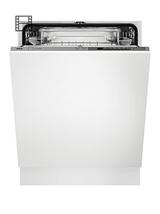 AEG FFE63700PM Fullsize15-Place Dishwasher - White