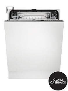 AEG FFE63700PM Fullsize 15-Place Dishwasher