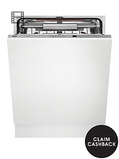 AEG FSS62800P Comfort Lift 13-Place Integrated Dishwasher