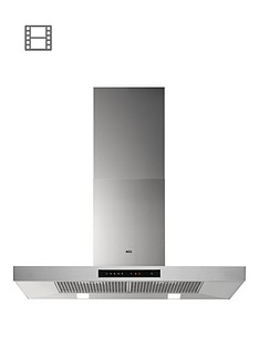 aeg-dbb5960hm-90cm-box-wall-cooker-hood-stainless-steel
