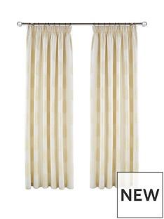 myleene-klass-gold-palm-hidden-tab-lined-curtains