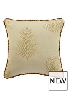 myleene-klass-gold-palm-cushion