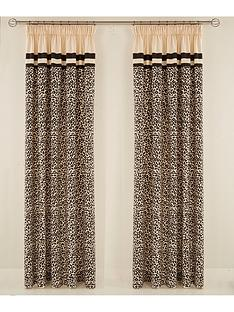 myleene-klass-animal-print-hidden-tab-lined-curtains