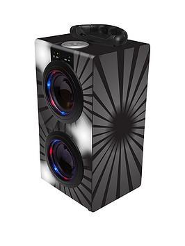 portable-bluetooth-karaoke-with-microphone-black