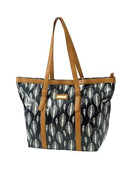 kangol-leaf-print-shopper-bag