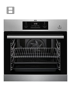 aeg-bes351010m-60cm-electric-built-in-single-oven-stainless-steel