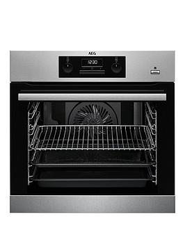 Aeg Bes351010M 60Cm Electric Built-In Single Oven - Stainless Steel Review thumbnail