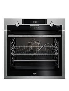 Aeg Bcs552020M 60Cm Electric Built-In Single Oven – Stainless Steel