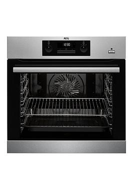aeg-bps351020m-60cm-electric-built-in-single-oven-stainless-steel