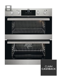 aeg-dub331110m-60cm-electric-double-oven