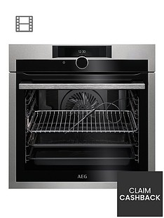 aeg-bpe842720m-60cm-electric-built-in-single-oven-stainless-steel