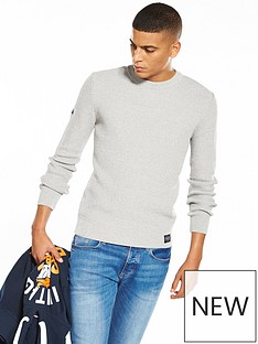 superdry-superdry-university-waffle-crew-neck-jumper