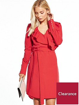 v-by-very-cotton-wrap-dress