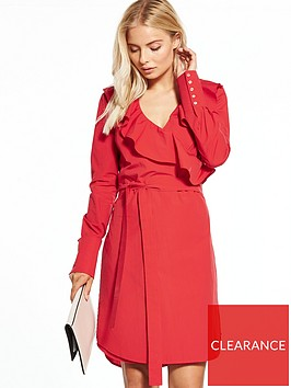 v-by-very-cotton-wrap-dress