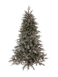 cumbria-snow-tipped-real-look-christmas-tree-with-pine-cones-6ft