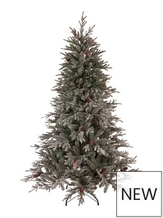 cumbria-snow-tipped-real-look-christmas-tree-with-pine-cones-7ft