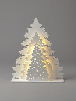 lit-tree-scene-room-christmas-decoration