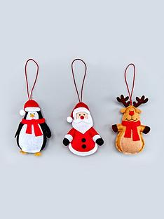 santa-rudolph-and-penguin-fabric-novelty-hanging-christmas-tree-decorations-3-pack