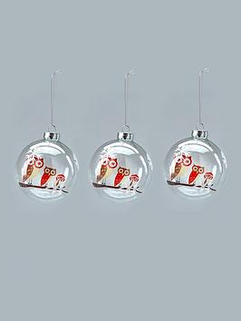 glass-owl-christmas-tree-baubles-3-pack
