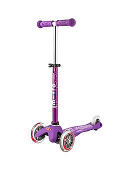 Micro Scooter Mini Micro Deluxe &Ndash; Purple