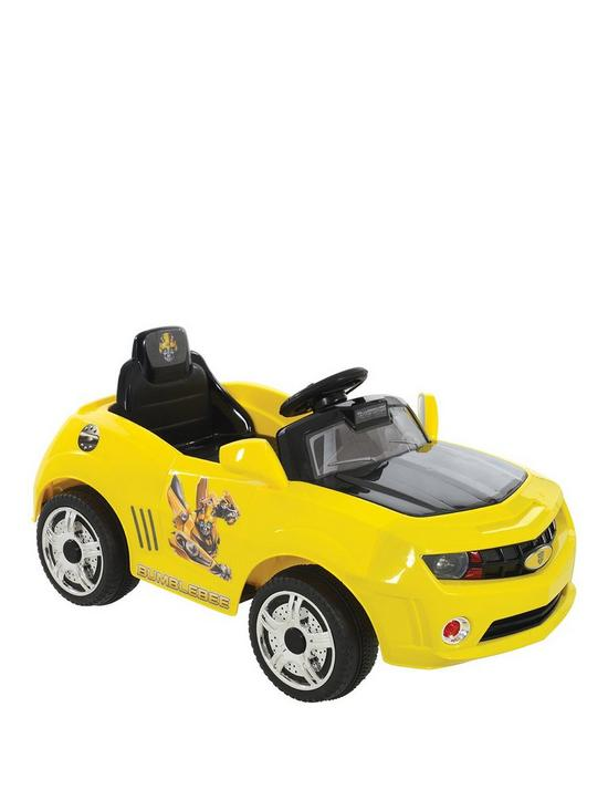 6V Battery Operated Bumblebee Car