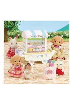 sylvanian-families-candy-wagon