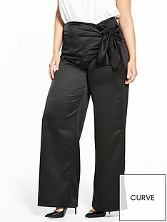 lost-ink-curve-tie-wide-leg-trousers-black