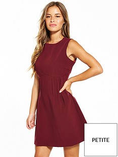lost-ink-petite-nalani-seamed-dress-burgundy