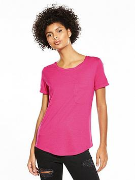 v-by-very-twisted-neck-perfect-t-shirt