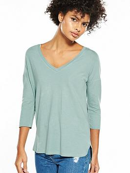 v-by-very-v-neck-oversized-t-shirt-duck-egg-blue