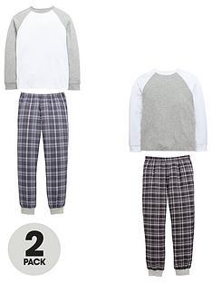 v-by-very-v-by-verynbsp2-pack-check-pyjamas