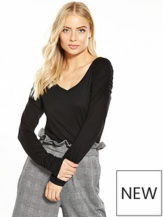 v-by-very-ruched-shoulder-long-sleeve-top