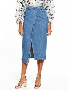 lost-ink-lost-ink-popper-side-wrap-denim-pencil-skirt