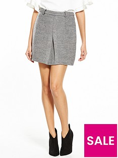 lost-ink-bonded-knit-belted-mini-skirt