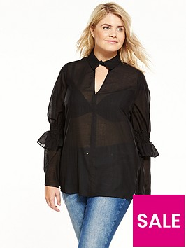 lost-ink-curve-lost-ink-curve-smock-top-with-shirred-sleeve