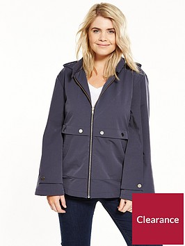 lost-ink-plus-parka-with-double-sleeve-grey