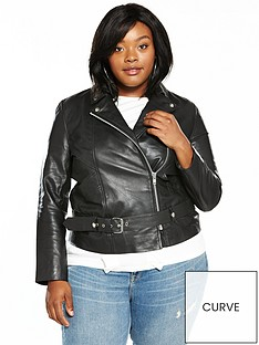 lost-ink-curve-premium-longline-leather-jacket-black
