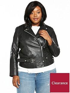 lost-ink-plus-premium-longline-leather-jacket-black