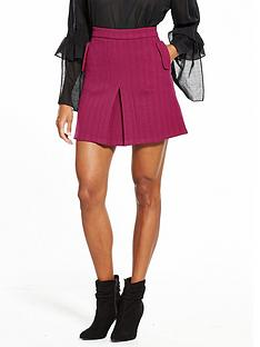 lost-ink-bright-box-pleat-mini-skirt-bright-pink