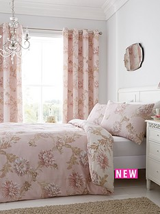 catherine-lansfield-chrysanthemum-duvet-cover-set