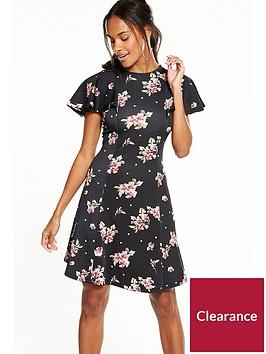 v-by-very-angel-sleeve-printed-dress